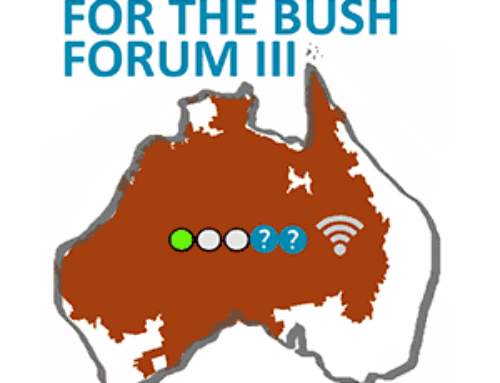 Broadband for the Bush Forum in Alice Springs