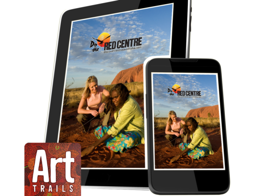 CASE STUDY: Red Centre Art Trails App